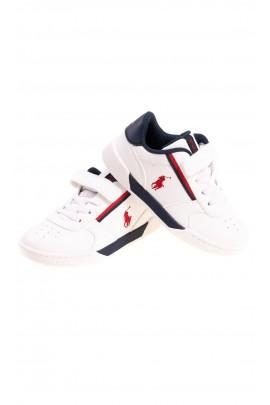Białe buty sportowe na rzepy, Polo Ralph Lauren