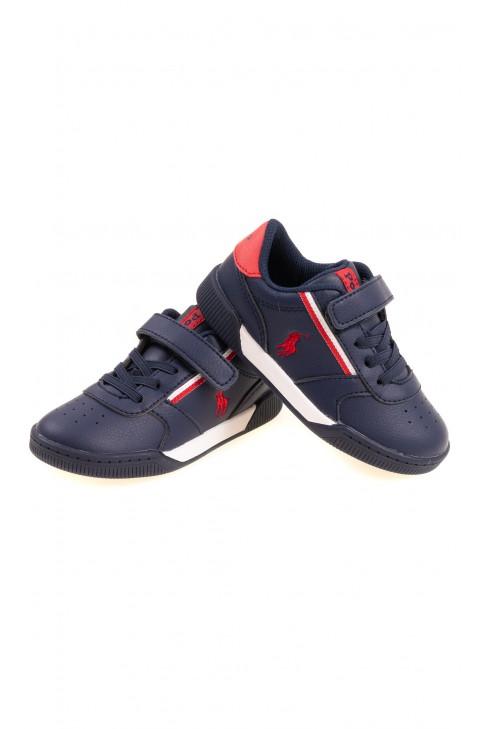 Sneakersy granatowe dla chłopca, Polo Ralph Lauren