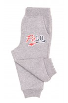 Szare spodnie dresowe niemowlęce, Ralph Lauren