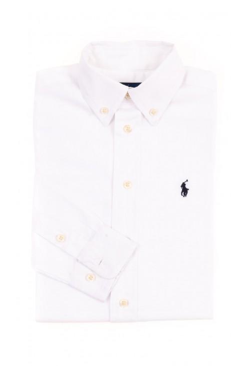 Biała elegancka koszula chłopięca, Polo Ralph Lauren