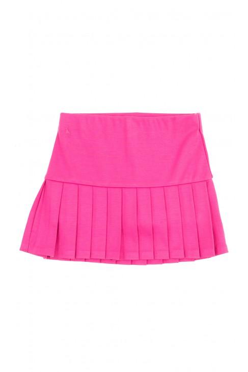 Różowa spódniczka dół plisowany, Polo Ralph Lauren