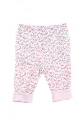 Pastelowe bawełniane dwustronne spodnie niemowlęce, Ralph Lauren