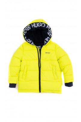Cytrynowa kurtka chłopięca, Hugo Boss