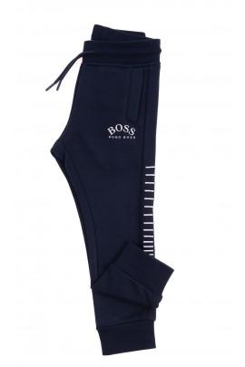Granatowe spodnie dresowe, Hugo Boss