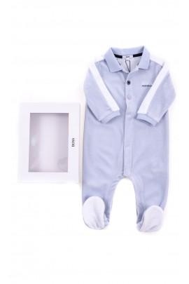 Niebieski pajacyk niemowlęcy, Hugo Boss