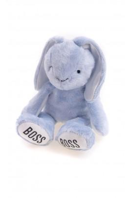 Króliczek - niebieska maskotka dla niemowlaka, Hugo Boss