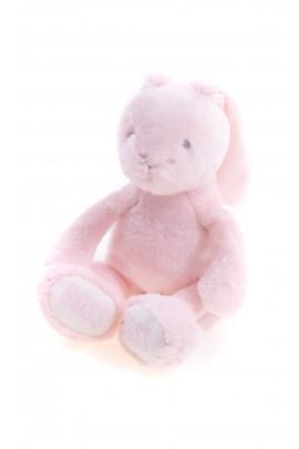 Króliczek różowy -maskotka dla niemowlaka, Hugo Boss