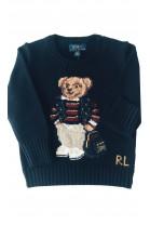 Sweter chłopięcy z misiem, Polo Ralph lauren