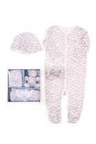 Pastelowy komplet niemowlęcy dla dziewczynki, Ralph Lauren