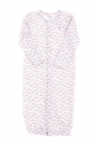 Pajacyk - piżamka niemowlęca pastelowa w drobne kwiatki, Ralph Lauren