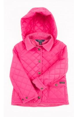 Różowa kurtka przejściowa dziewczęca, Polo Ralph Lauren