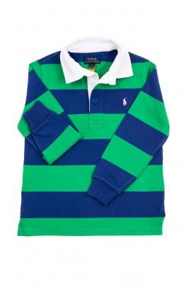Koszulka polo chłopięca na długi rękaw, Polo Ralph Lauren