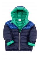 Dwustronna granatowo - zielona kurtka ocieplana, Polo Ralph Lauren