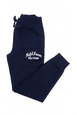 Spodnie granatowe dresowe chłopięce, Polo Ralph Lauren