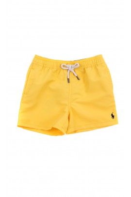 Żółte niemowlęce krótkie spodenki, Ralph Lauren