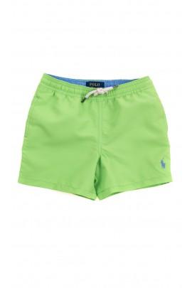 Zielone krótkie spodenki kąpielowe, Polo Ralph Lauren