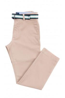 Beżowe długie spodnie chłopięce, Polo Ralph Lauren