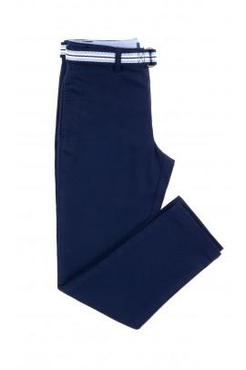 Granatowe eleganckie spodnie chłopięce, Polo Ralph Lauren