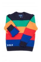 Kolorowy sweter chłopięcy,  Polo Ralph Lauren