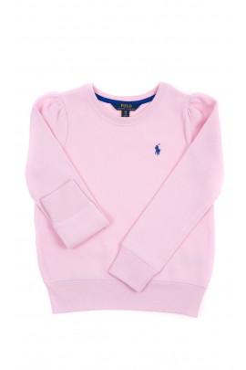 Różowa bluza dziewczęca, Polo Ralph Lauren