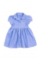 Niebieska niemowlęca sukienka, Ralph Lauren