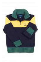 Sweter chłopięcy ze stójką pod szyją, Polo Ralph Lauren
