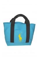 Niebieska torebka do ręki, Polo Ralph Lauren