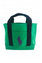 Zielona torebka do ręki, Polo Ralph Lauren
