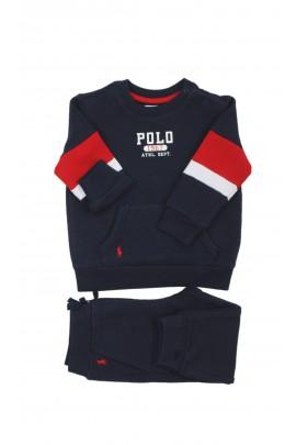 Granatowy dres niemowlęcy dla chłopca, Ralph Lauren