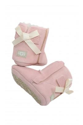 Niemowlęce różowe botki dla dziewczynki, UGG