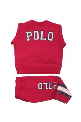 Różowy niemowlęcy dresik dziewczęcy, Ralph Lauren