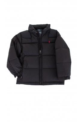 Czarna puchowa kurtka Polo Ralph Lauren