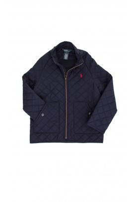 Pikowana kurtka granatowa Polo Ralph Lauren