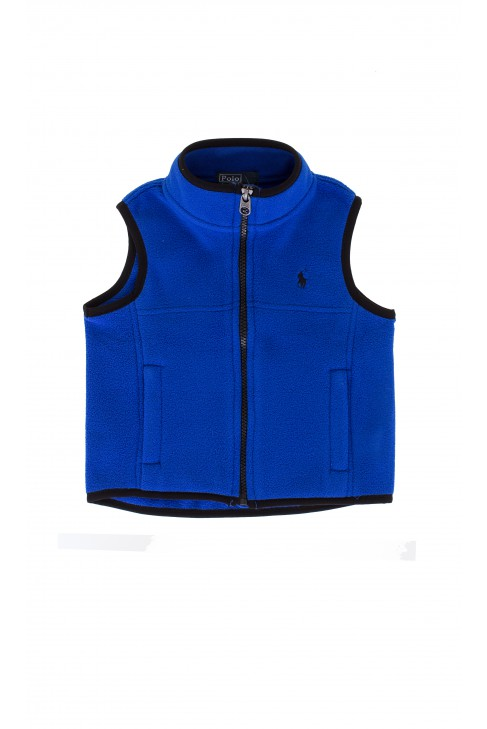 Sapphire sleeveless jacket, Polo Ralph Lauren
