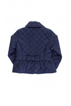 Pikowana kurtka granatowa Ralph Lauren