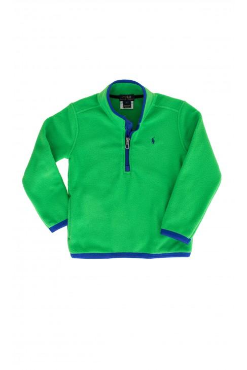 Bluza polarowa zielona,Polo Ralph Lauren