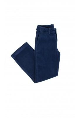 Spodnie sztruksowe ciemnoniebieskie, Polo Ralph Lauren