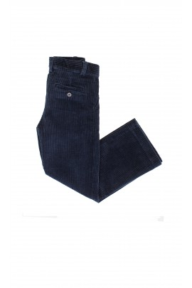 Spodnie sztruksowe ciemnogranatowe, Ralph Lauren