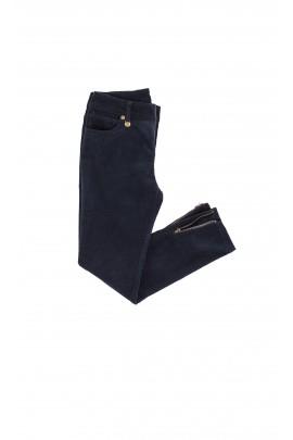 Spodnie sztruksowe granatowe, Ralph Lauren