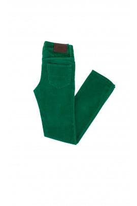 Spodnie sztruksowe ciemnozielone, Polo Ralph Lauren