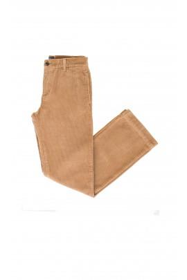 Spodnie sztruksowe koniakowe, Polo Ralph Lauren