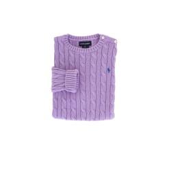 Purple sweater, Ralph Lauren