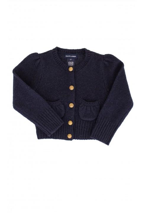 Navy blue sweater, Ralph Lauren