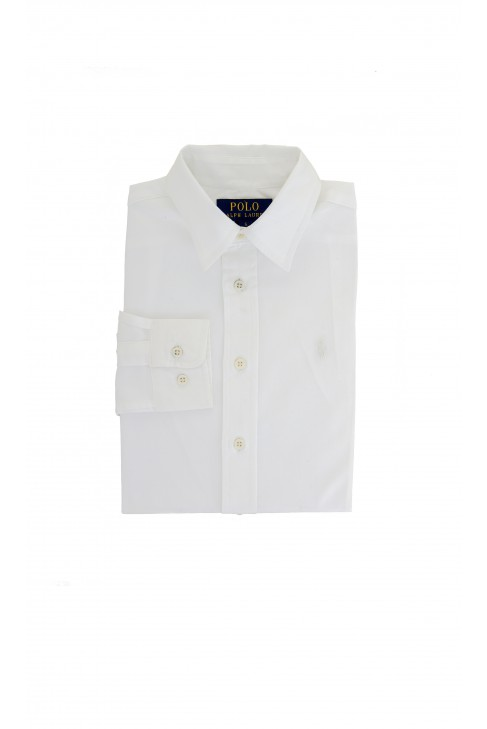 Elegant white shirt with white pony, Polo Ralph Lauren