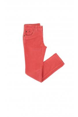 Spodnie sztruksowe pomarańczowe, Tommy Hilfiger