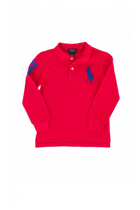 Red polo shirt, Polo Ralph Lauren