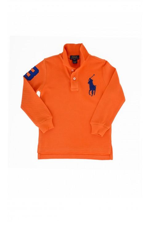 Pomarańczowe polo, Polo Ralph Lauren