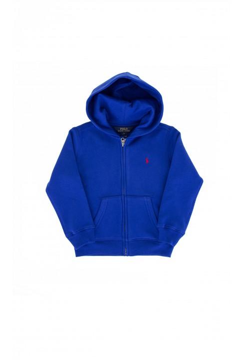 Blue hooded sweatshirt, Polo Ralph Lauren