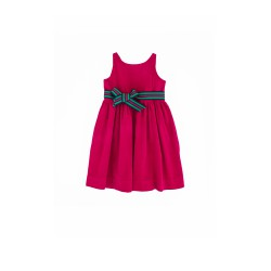 Pink (fuchsia) corduroy dress, Ralph Lauren