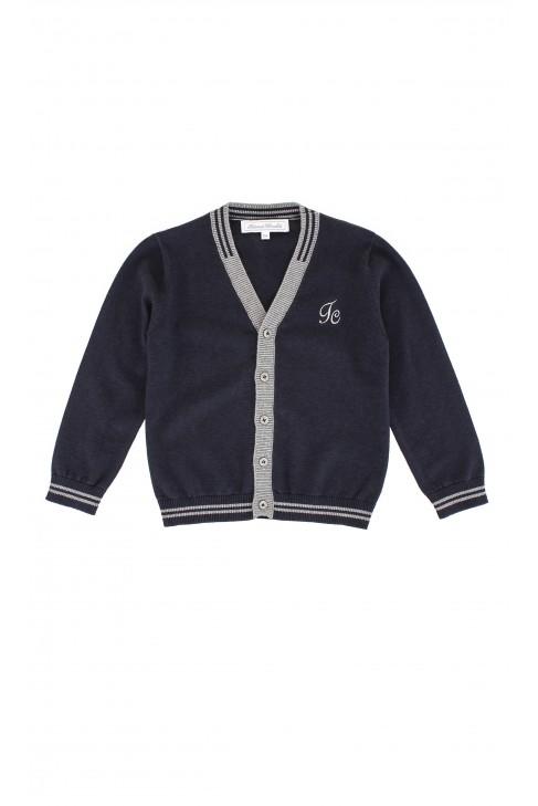 Navy blue sweater, Tartine et Chocolat